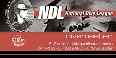 Курсы дайвинга Divemaster NDL