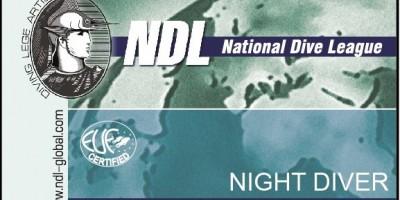 Курс Night Diver NDL