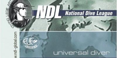 Курс дайвинга Universal Diver NDL